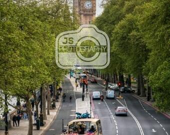 Big Ben Over London
