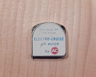 Lufkin Tape Measure Promoting Buick Electro-Cruise Control; 1963