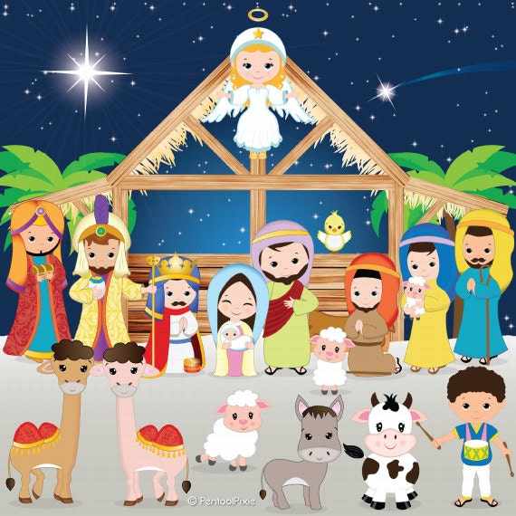 nativity clipart nativity clip art christmas clipart jesus christmas manger clipart free christmas manger scene clipart free