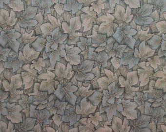 Light Green Leaves Fabric - Windsor Collection by Hoffman International Fabrics - Quilters Cotton - 1 Yard Only