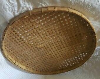 26 inch Vintage TOBACCO BASKET