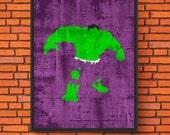 Minimalism Art - Hulk Pri...