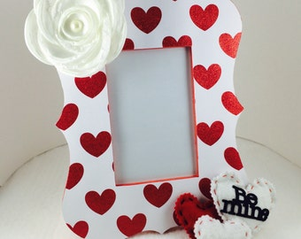 Sweetheart Valentine's Day Picture Frame, Custom Picture Frame, Valentines days gift, babys first Valentines day