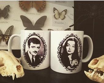 Addams Family Coffee Mug Set