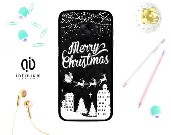 Merry Christmas Case For Samsung S7, iPhone 7, 7 Plus, 6S, 6 Plus, SE, 5S, Touch 6, S7 Edge, S6, S6 Edge, Samsung J5, Galaxy J3, A3 & A5