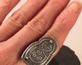 Matryoshka Doll ring
