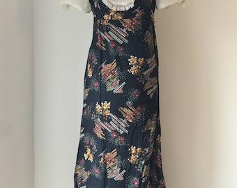 British vintage Richard Shops 1970s dress
