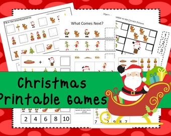 Christmas game  Etsy