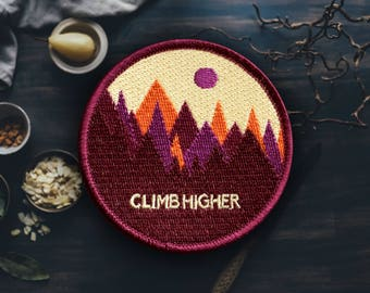 Colorful Mountain Patch (Free Shipping US)