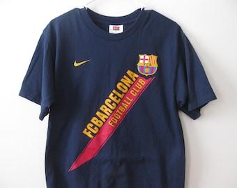 FC Barcelona Jersey t-shirt shirt Nike Adult Small Medium