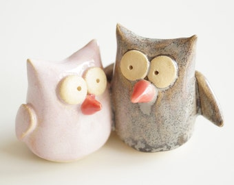ceramic owl wedding cake toppers owl wedding cake topper owl you forever 12489