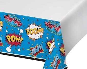 1/ superhero Tablecloth / avengers / spiderman / superhero party