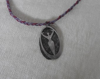 A Mother Of Goddess Pendant
