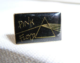 Vintage Late 70s Pink Floyd - Dark Side of the Moon Album - Prism Enamel Pin / Button / Badge