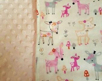 Deer Baby Blanket - Perfect Baby Shower Gift