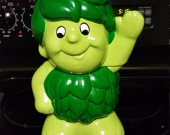1988 Green Giant Sprout Cookie Jar By Pillsbury