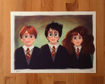Print Harry Potter