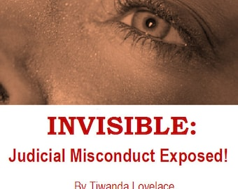 eBook INVISIBLE: Part II - Judicial Misconduct Exposed! 153 Pages of Proof!  Exposes officials misconduct