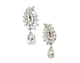 Vintage Bridal Earrings by Trifari Wedding