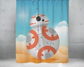 BB8 Window Curtain