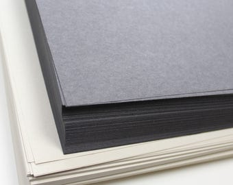 Recycled A3 Black and White Sugar Paper 100gsm Zebra Colour Craft Paper Value Pack Stock 250 Sheets