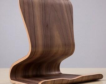 Wooden Tablet Holder Stand
