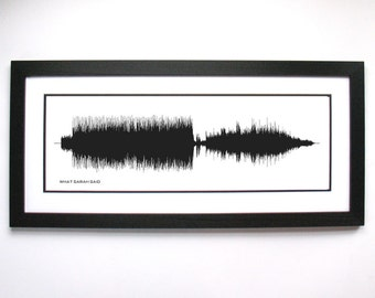 What Sarah Said - Art Print, Framed Print, or Canvas - Alternative Rock Band Wall Art, Gift Idea