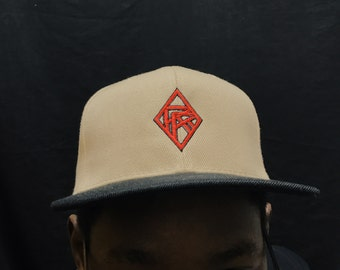 Red Rocket Trucker Hat- Khaki