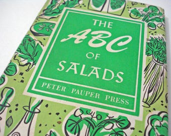 The ABC Of Salads Peter Pauper Press 1958 Hardcover