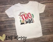 Woodland | Wild | Embroidered | Party Shirt | 1st | 2nd | 3rd | 4th | 5th Birthday | Personalized| Little Middle Big Sis | Pick Your Deadine