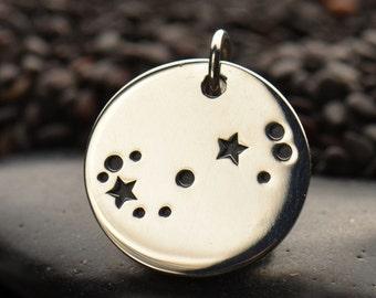 Sterling Silver Scorpio Constellation Charm