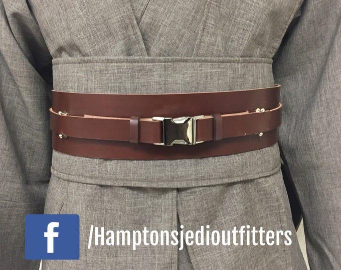 Star Wars Anakin Skywalker inspired Genuine Leather Jedi/sith Belt