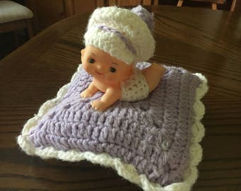 Crocheted Baby Doll