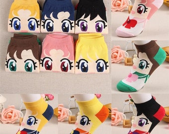 Cute Sailor Moon Socks!