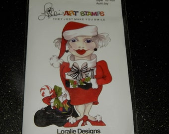 Loralie Art Stamps Aunt Joy
