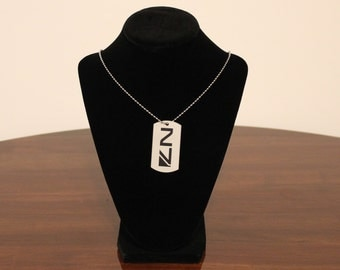 Mass Effect Laser Engraved N7 Necklace Tag