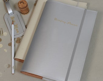 Recycled Leather 'Wedding Planner' A5