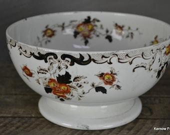 Antique Victorian Centre Piece Fruit Bowl