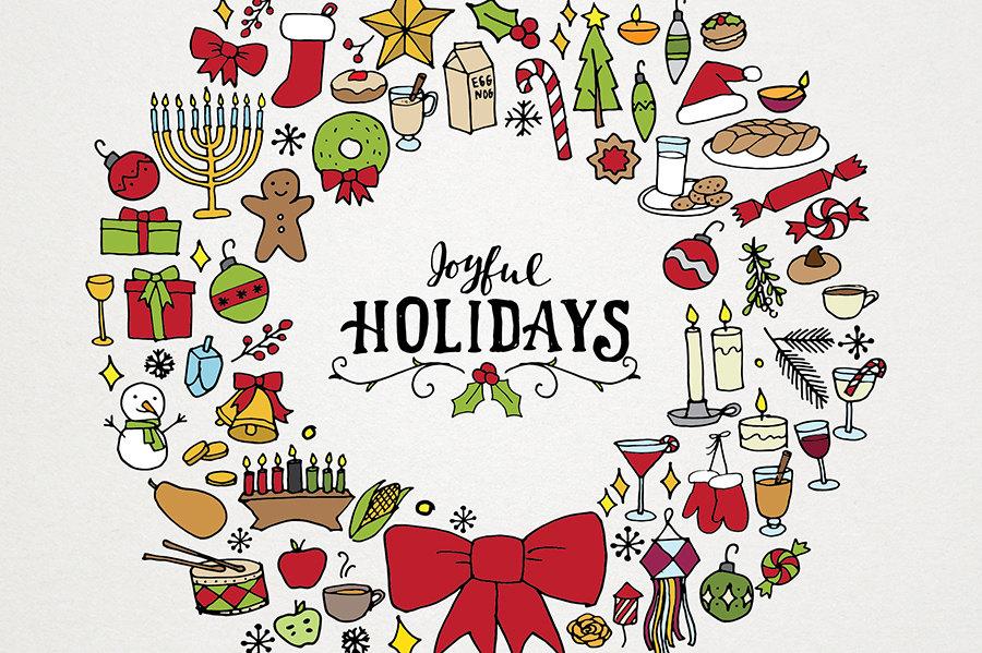 Holiday clip art on christmas clipart and - ClipartBarn