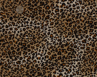 "Cheetah Print Stretch Jersey Knit By The Yard ""MCPL2J-D0042"""