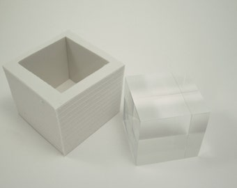 silicone mold 5 cm cube resin-concrete-wax all kind of material except food