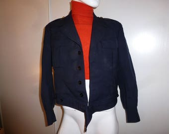 French vintage pilot jacket