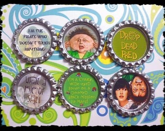 Drop Dead Fred Magnets