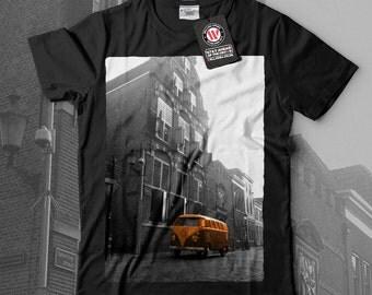 Volkswagen Car Hippie Automobile Men Black White Grey Red Royal Blue T-shirt S-5XL NEW | Wellcoda *q471