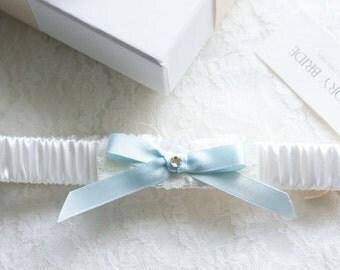 Bella satin garter