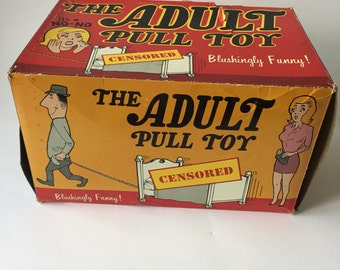 The Adult Pull Toy / Adult Toy / Gag Gift / Adult Gag Gift /  Adults Only / Funny Adult Gift /