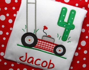 Lawnmower Shirt, Lawnmover birthday shirt