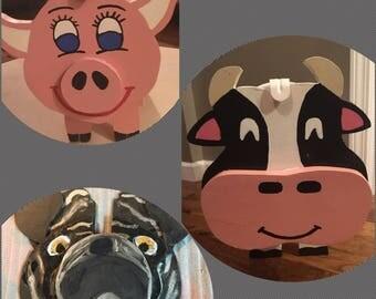 Animal Mailboxes, Cow Mailbox, Pig Mailbox, Flamingo Mailbox, Horse Mailbox, Pug Mailbox