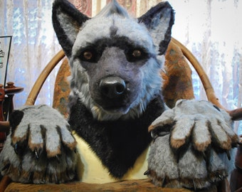 Custom Partial Fursuit Commission - Head, Hands, Feet, and Tail. PAYMENT PLAN AVAILABLE!