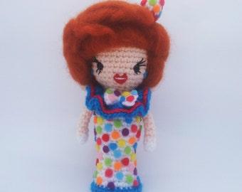 RuPaul's Drag Race -  Bianca Del Rio - Clown Realness  Amigurumi.